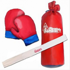 Детский набор для бокса Absolute Champion Classic (груша, перчатки, повязка)