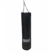 Боксерская груша (боксерский мешок) Absolute Champion Standart+ Черная 40 кг, 87 х 29 см