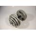 Набор гантелей металлических Хаммертон Atlas Sport 2x29 кг