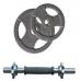 Набор гантелей металлических Хаммертон Atlas Sport 2x16,5 кг