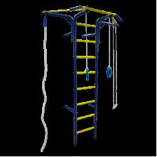 Шведская стенка 'Альпинистик' 'Самолет' ДСК (детский спортивный комплекс) Сине-Желтый