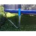 Батут Atlas Sport 140 см - 4.5ft с внешней сеткой (на эластичных ремнях) до 35 кг