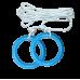 Кольца гимнастические детские для ДСК