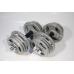 Набор гантелей металлических Хаммертон Atlas Sport 2x14 кг