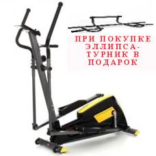 Эллиптический тренажер Atlas Sport Fenix (шаг 40 см. маховик 12 кг)