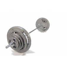 Штанга Hammertone 83,5кг (гриф 150см+диски 2*20кг+2*10кг+2*5кг+2*2,5кг)