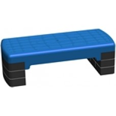 Степ платформа  3-х уровневая синяя