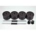 Гантели Atlas Sport 2х10,5 кг (16 дисков по 1,25 кг)