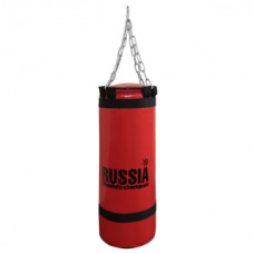 Боксерская груша (боксерский мешок) Absolute Champion Standart+ 60 кг, 102 х 29 см Красная