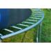Батут FunFit 435 см - 14ft с внешней сеткой и лестницей + ПОДАРОК