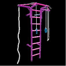 Шведская стенка 'Альпинистик' 'Самолет' ДСК (детский спортивный комплекс) Фиолетово-Розовый