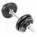 Набор гантелей металлических в кейсе Atlas Sport 13,320 кг (2шт x 6,660 кг)