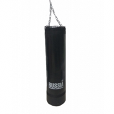 Боксерская груша (боксерский мешок) Absolute Champion Standart+ Черная 15 кг, 68 х 29 см