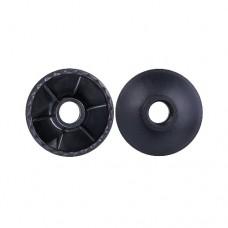 Комплект колец Berger ограничительных для скандинавских палок 2 шт black
