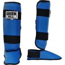 Защита голень-стопа Green Hill Battle SIB-0014 Blue р-р M