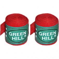 Бинт боксерский Green Hill 3,5 м BC-6235c Red