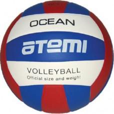 Мяч волейбольный Atemi AVC4S Ocean white/blue/red