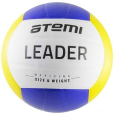 Мяч волейбольный Atemi Leader White/blue/yellow
