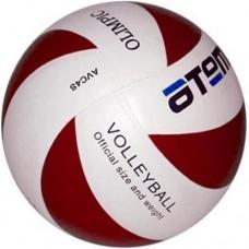 Мяч волейбольный Atemi Olimpic white/red