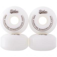 Комплект колес для скейтборда Ridex SB 100A 55x32 white