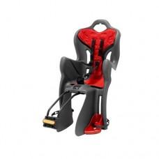 Велокресло для детей Bellelli B-one Standard grey/red 22192