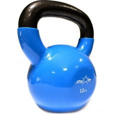Гиря виниловая Starfit DB-401 12 кг blue