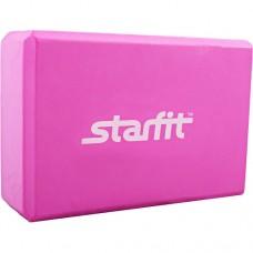 Блок для йоги Starfit FA-101 PVC pink