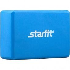 Блок для йоги Starfit FA-101 PVC blue