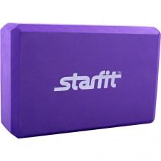 Блок для йоги Starfit FA-101 PVC purple