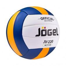 Мяч волейбольный Jogel JV-220 White/Blue/Orange