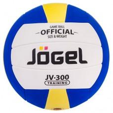 Мяч волейбольный Jogel JV-300 White/Blue/Yellow