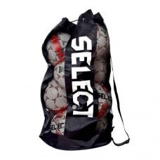 Сетка для переноса 12 мячей Select Football Bag 805016 black