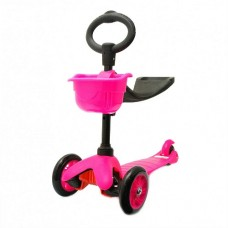 Самокат 21st Scooter 3 in 1 pink