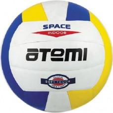 Мяч волейбольный Atemi Space White/yellow/blue