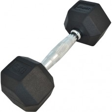 Гантель обрезиненная Starfit DB-301 5 кг Black
