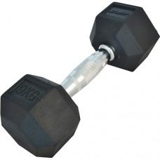 Гантель обрезиненная Starfit DB-301 9 кг Black