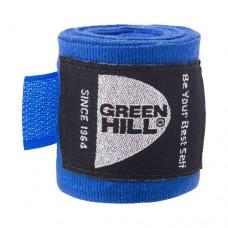 Бинт боксерский Green Hill 3,5 м BC-6235c blue