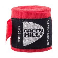 Бинт боксерский Green Hill 3,5 м BP-6232c red