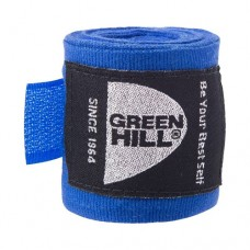 Бинт боксерский Green Hill 3,5 м BP-6232c blue