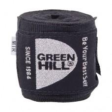 Бинт боксерский Green Hill 3,5 м BP-6232c black
