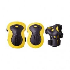 Комплект защиты для роликов Ridex Envy yellow р-р S