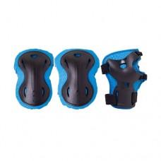 Комплект защиты для роликов Ridex Rapid blue р-р M
