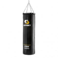 Мешок боксерский Effort 60 кг E256 black