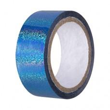 Скотч-лента для художественной гимнастики Amely 20 мм x 15 м AGS-301 blue