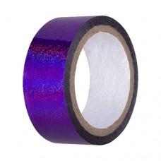 Скотч-лента для художественной гимнастики Amely 20 мм x 15 м AGS-301 purple