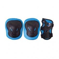 Комплект защиты для роликов Ridex Robin blue р-р M