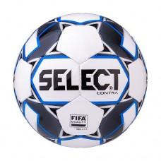 Мяч футбольный Select Contra FIFA №5 White/Blue/Grey/Black