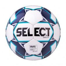 Мяч футбольный Select Delta IMS №5 815017 White/Dark Blue/Blue
