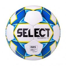 Мяч футбольный Select Numero10 IMS №5 White/Blue/Yellow
