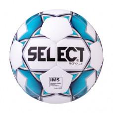 Мяч футбольный Select Royale 814117 IMS №5 White/Blue